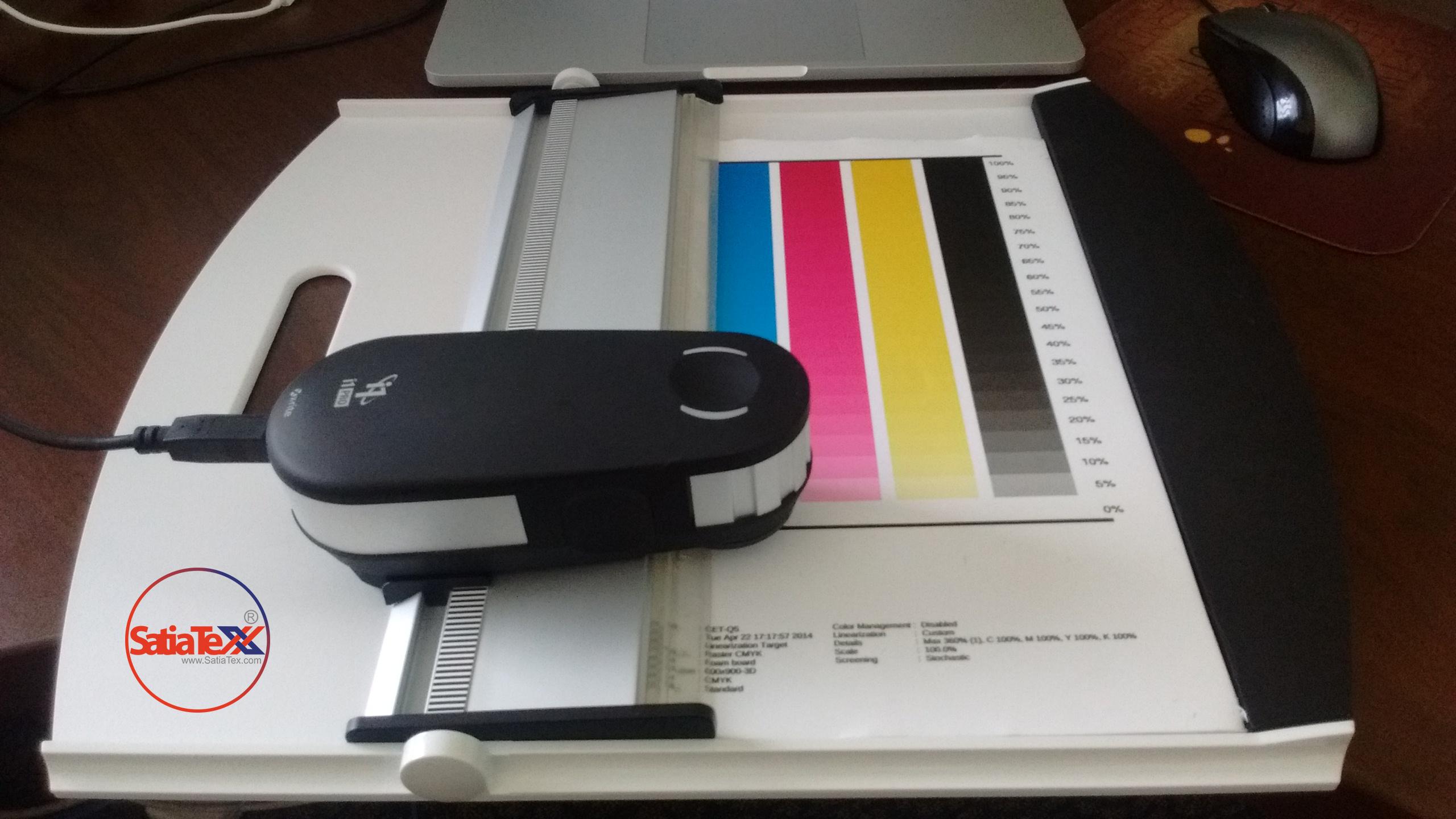 پروفایل سازی دستگاه چاپ سابلیمیشن با دستگاه I1 (آی وان)